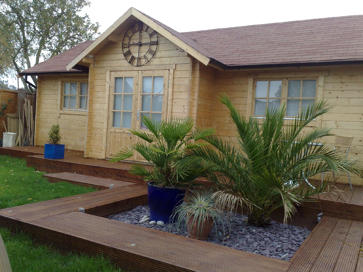 Perfect Cabins Gallery Bespoke Cabins. Full resolution  image, nominally Width 1200 Height 900 pixels, image with #445E2D.
