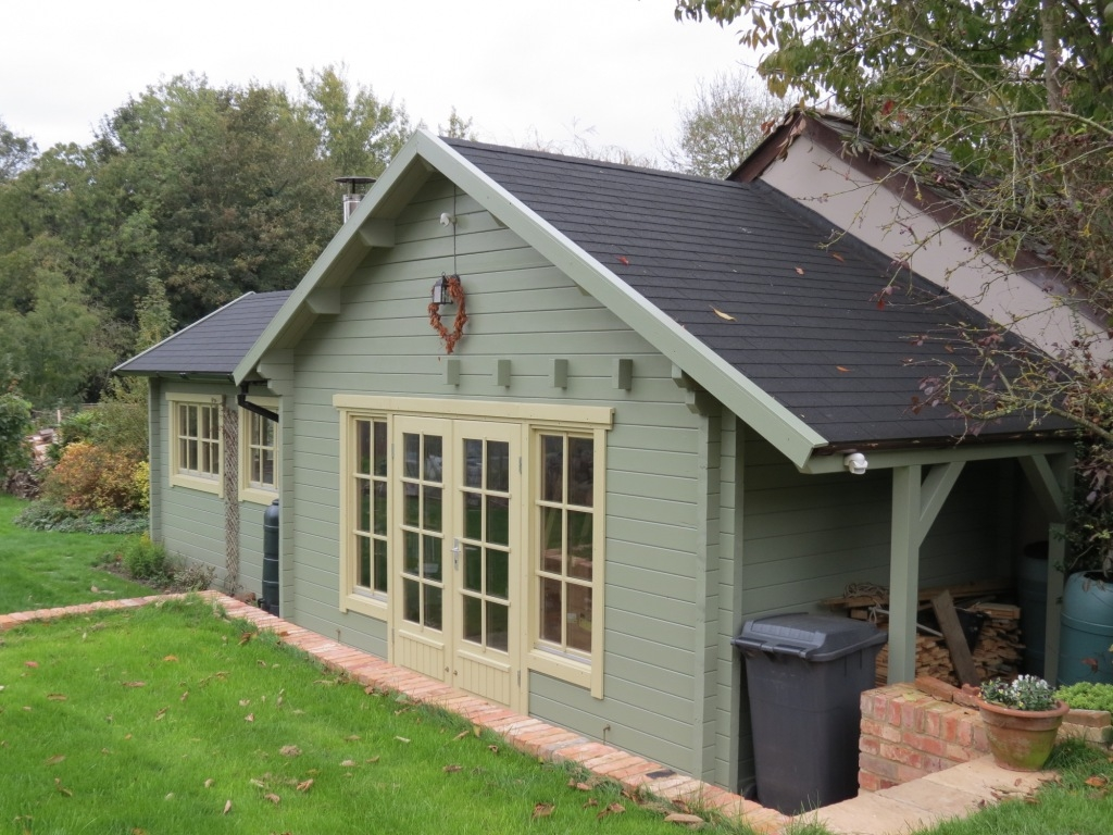 Perfect Cabins Gallery Bespoke Cabins. Full resolution  image, nominally Width 1024 Height 768 pixels, image with #677C3D.