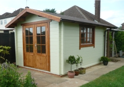 Premium Range Sue cabin with extra double window