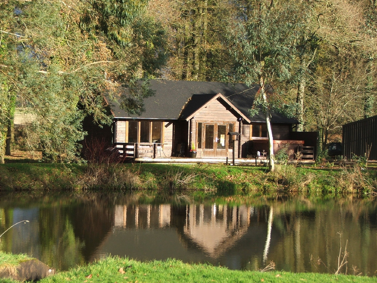 Bespoke Holiday Lodge installed by Perfect Cabins February 2007