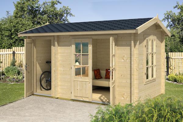 wrexham 1 log cabin x tall office shed. Black Bedroom Furniture Sets. Home Design Ideas